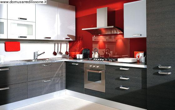 Cucine Piccole Con Mobili Grigi