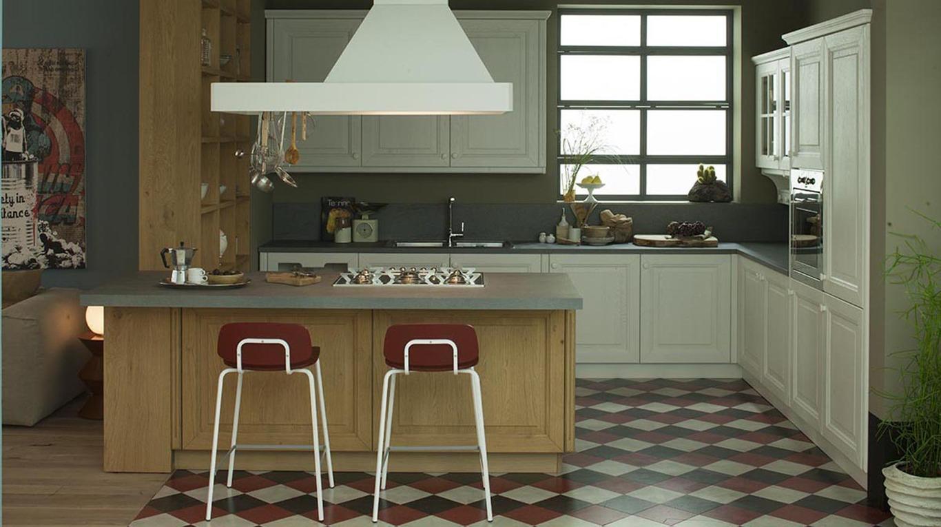 Trendy beautiful progetto cucina in muratura con isola vovellcom cucina con penisola with - Progetti cucine con isola ...