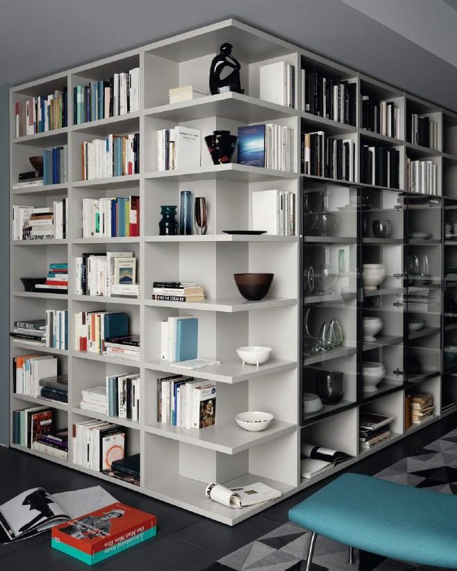 Libreria Angolare.Libreria Sangiacomo Angolare