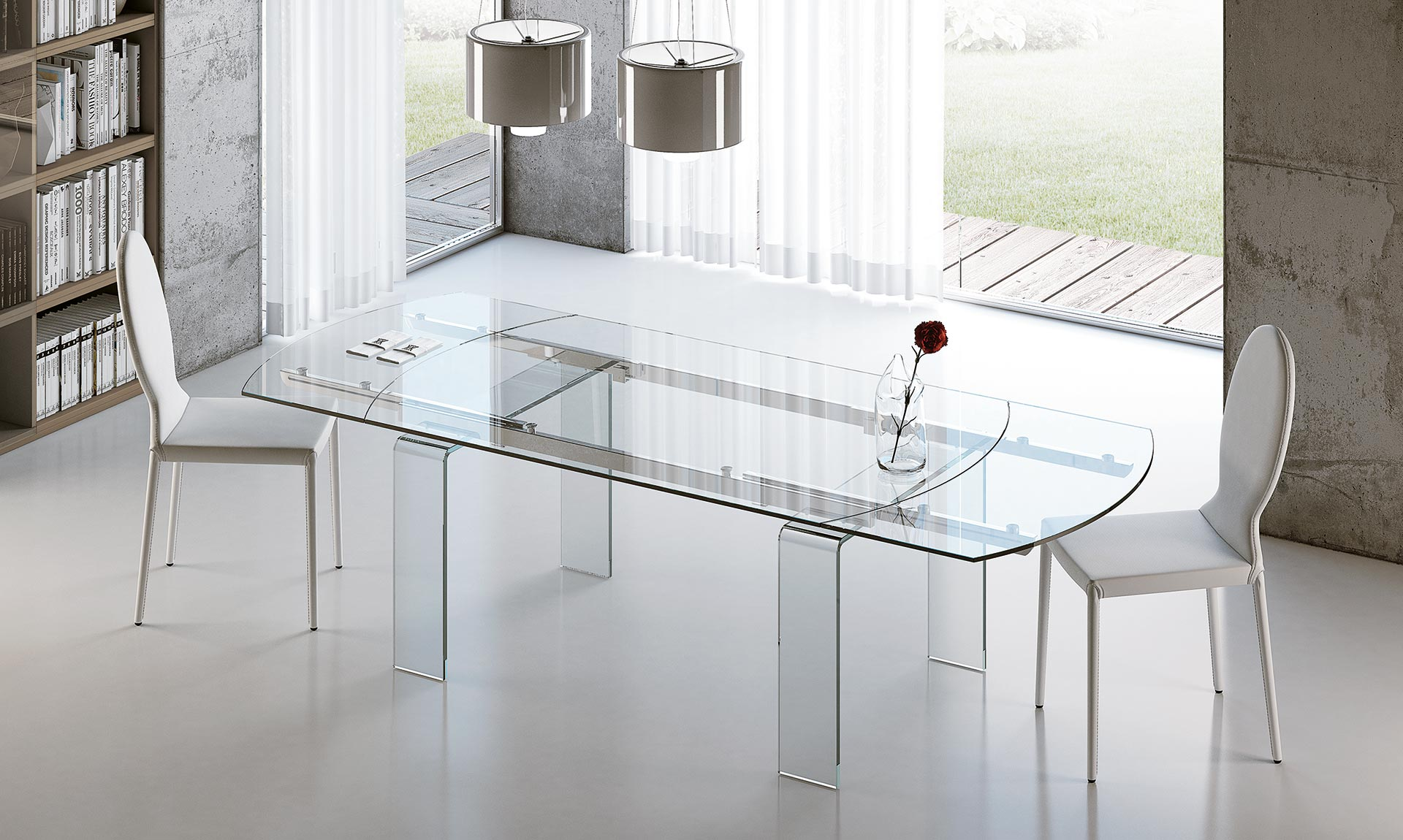 Tavolo vetro economico tavolini legno - Epierre