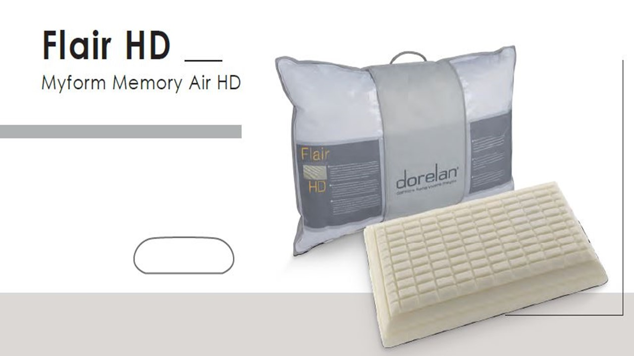 Guanciale Flair HD memory Air