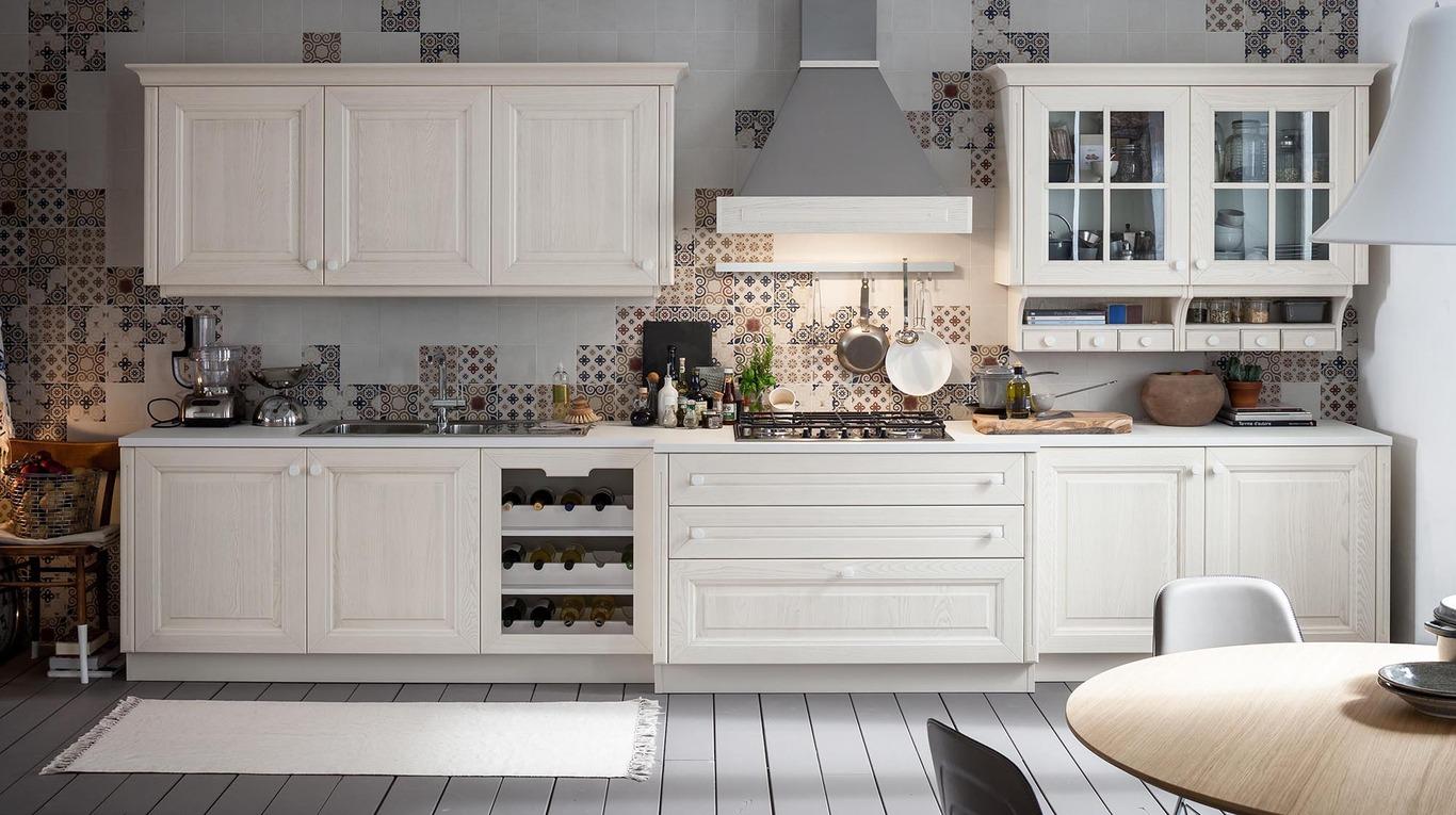 Anta legno veneta cucine - Rivestimenti per cucine classiche ...
