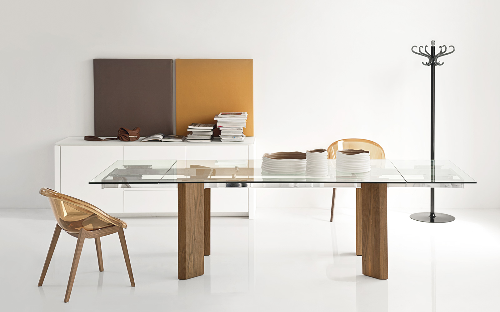 Tavolo Calligaris Tower Wood