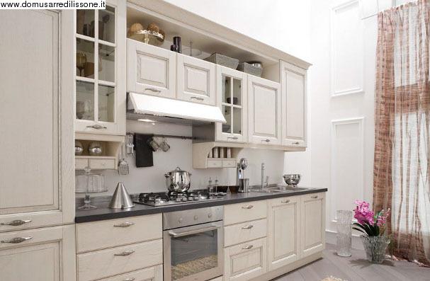 VENETA CUCINE ::: Domus Arredi Lissone ::: Cod.10618 Memory con Top in Quarzo Veneta Cucine