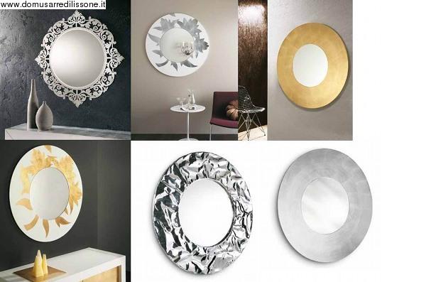 Casa immobiliare accessori specchi rotondi - Specchi antichi prezzi ...