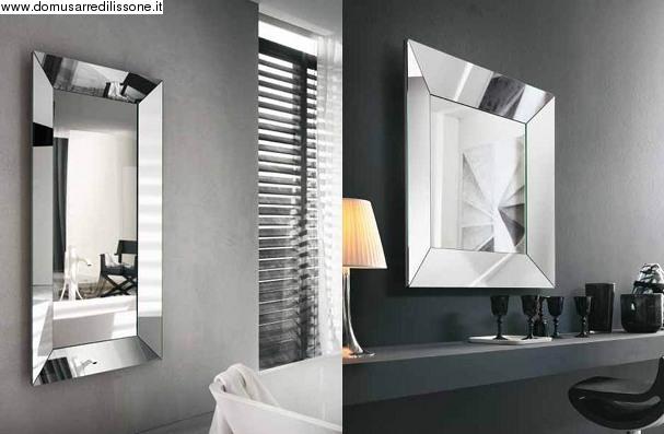 Specchio trapezio riflessi for Specchi arredo
