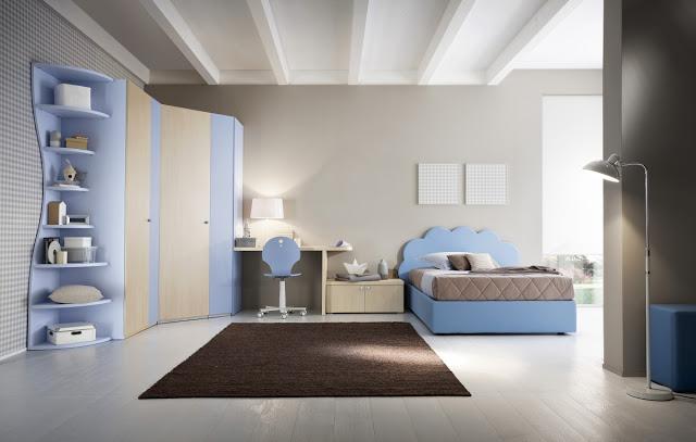 Cameretta Bianca E Azzurra : Cod cameretta azzurra componibile
