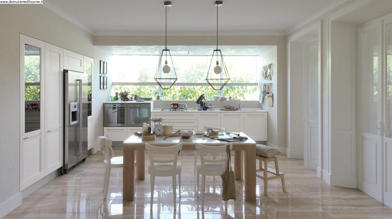 Cucina Bianca Lucida Con Top Bianco: Cucina moderna, spunti e ...