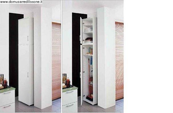 Mobili bagno salvaspazio design casa creativa e mobili for Mobili salvaspazio bagno