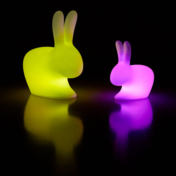Rabbit Lamp By Stefano Giovannoni