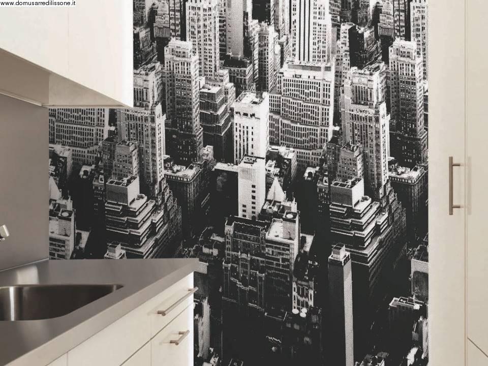 Carta da parati personalizzabile sky line new york for Carta da parati new york ebay