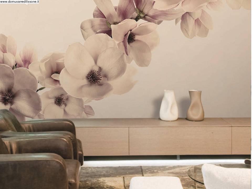 tappezzeria effetto orchidea