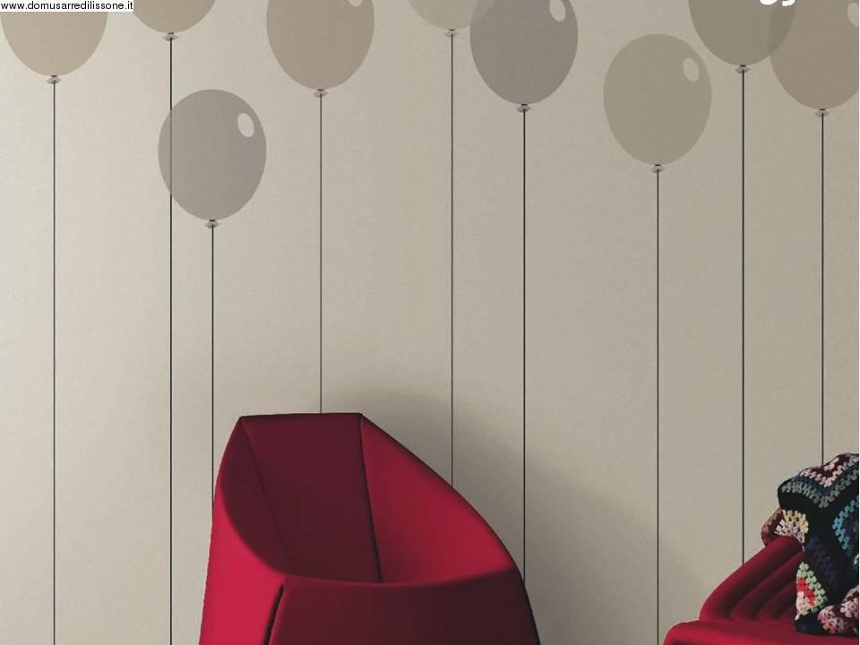 Rivestire Credenza Con Carta Da Parati : Idee per rivestire le pareti della cameretta soggetto palloncini