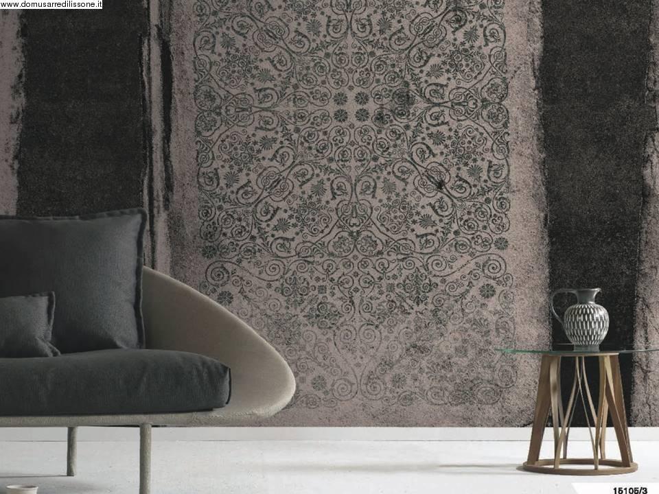 Carta da parati disegno classico orientale for Tappezzeria pareti